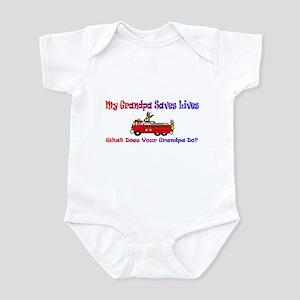 Firefighter Saves Lives-Grand Infant Bodysuit