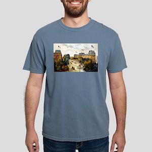 Saratoga Springs - 1907 Mens Comfort Colors Shirt