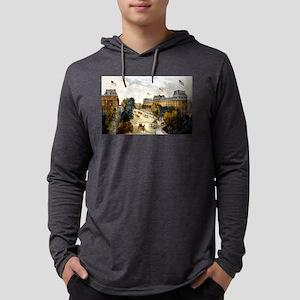 Saratoga Springs - 1907 Mens Hooded Shirt