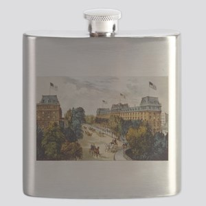 Saratoga Springs - 1907 Flask