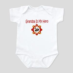 Firefighter Hero-Grandpa Infant Bodysuit