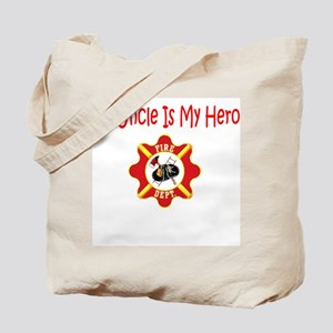 Firefighter Hero-Uncle Tote Bag