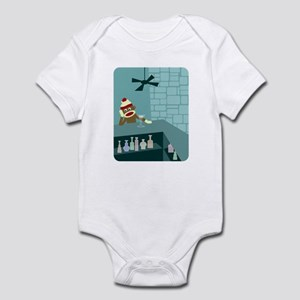 Sock Monkey Martini Bar Infant Bodysuit