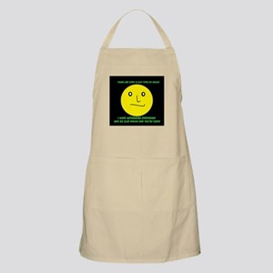 asperger smile Apron