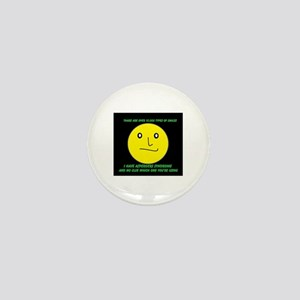 asperger smile Mini Button