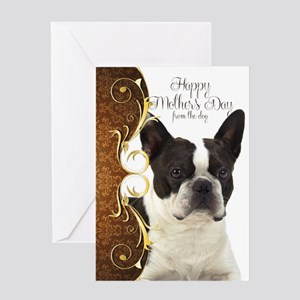 Boston Terrier Mother's Day Card