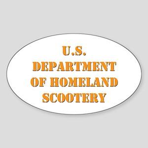 Homeland Scootery Oval Sticker