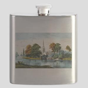 Stratford on Avon - 1907 Flask