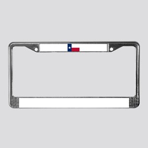 Texas Flag License Plate Frame