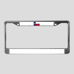 Texas Flag License Plate Frame