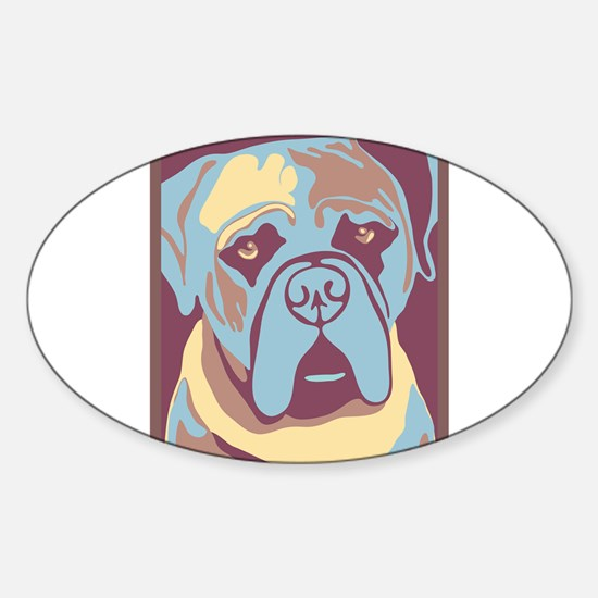 MY BEAUTIFUL MASTIFF Decal