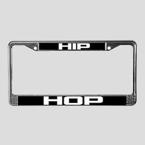 Hip Hop License Plate Frame