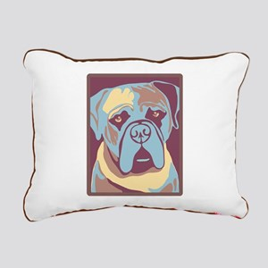 MY BEAUTIFUL MASTIFF Rectangular Canvas Pillow