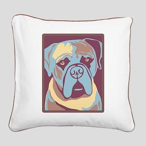 MY BEAUTIFUL MASTIFF Square Canvas Pillow