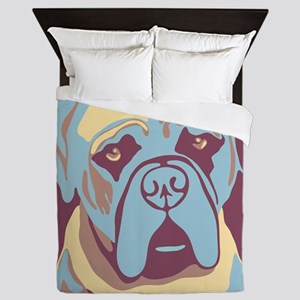 MY BEAUTIFUL MASTIFF Queen Duvet
