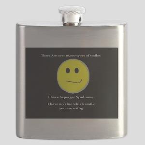 aspie smile Flask