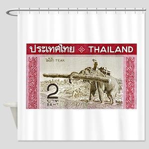 1968 Thailand Working Elephant Postage Stamp Showe