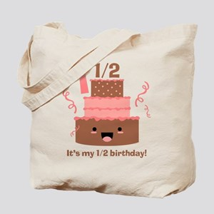 Kawaii Cake 1 1/2 Birthday Tote Bag