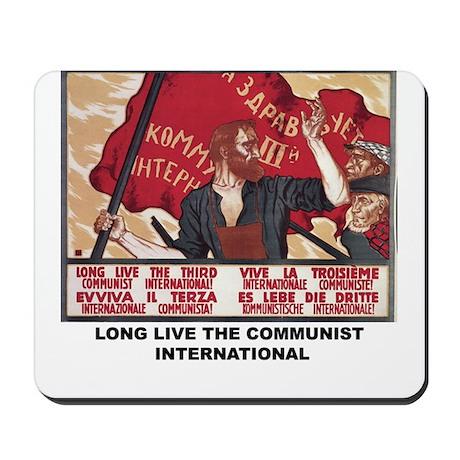 COMMUNIST INTERNATIONAL Mousepad