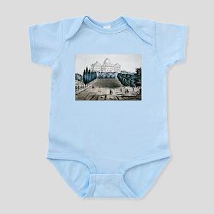 The Capitol at Washington - 1856 Infant Bodysuit