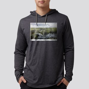 The City of Baltimore - 1880 Mens Hooded Shirt