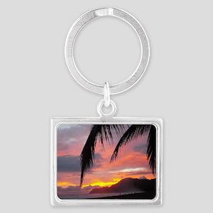 Sunset - Jaco Beach Landscape Keychain