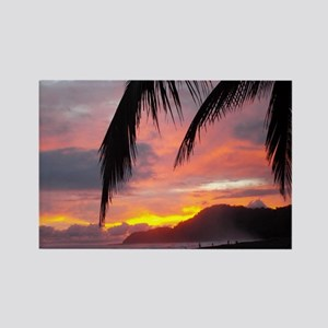 Sunset - Jaco Beach Rectangle Magnet