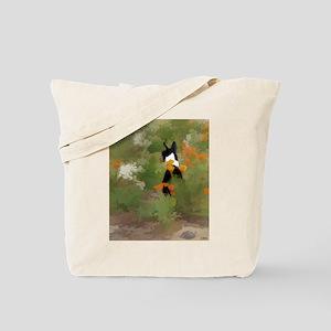 Rafiki in flowers Tote Bag