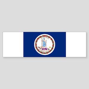 Virginia Flag Bumper Sticker