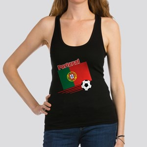 Portugal Soccer Team Racerback Tank Top