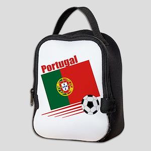 Portugal Soccer Team Neoprene Lunch Bag
