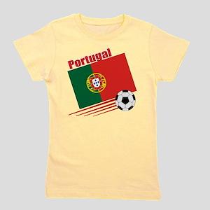 Portugal Soccer Team Girl's Tee