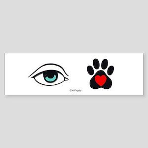 I love my Pet Bumper Sticker