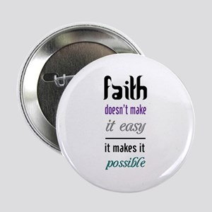 "Faith Possible 2.25"" Button"