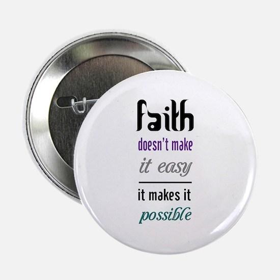 "Faith Possible 2.25"" Button"