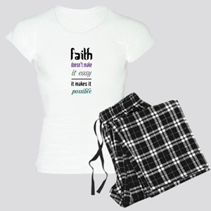 Faith Possible Pajamas