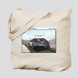 Outsmarting Traffic Tote Bag
