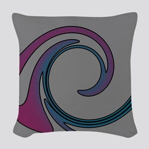 Violet at Dusk Woven Throw Pillow