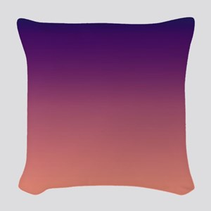 Violet Sand Woven Throw Pillow