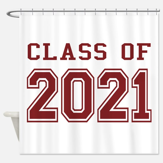 Class of 2021 Shower Curtain