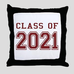 Class of 2021 Throw Pillow