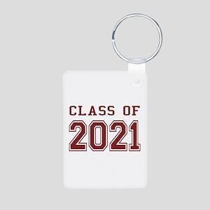 Class of 2021 Aluminum Photo Keychain