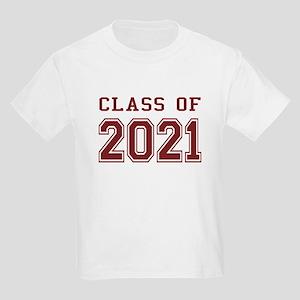 Class of 2021 Kids Light T-Shirt