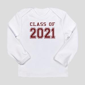 Class of 2021 Long Sleeve Infant T-Shirt