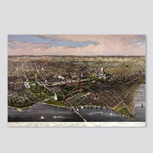 The City of Washington - 1880 Postcards (Package o