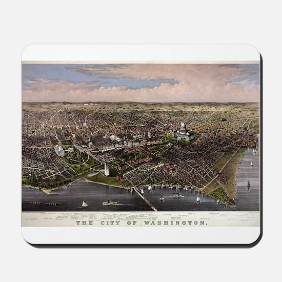 The City of Washington - 1880 Mousepad
