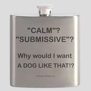Who Wants Calm?! Flask