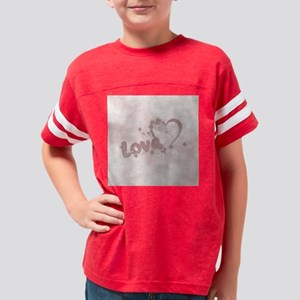 Love Letter Youth Football Shirt