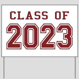 Class of 2023 Yard Sign