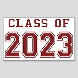 Class of 2023 Sticker (Rectangle)